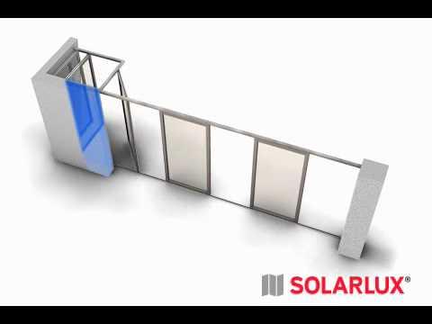 Horizontal-Schiebe-Wand von Solarlux - YouTube