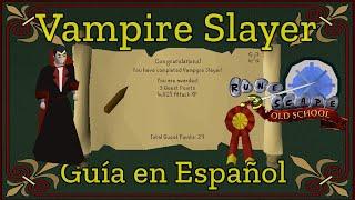 [OSRS] Vampire Slayer Quest (Español)