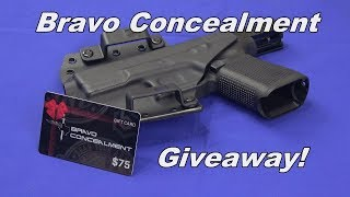 Bravo Concealment BCA Holster & Giveaway