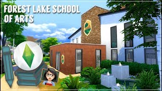 Forest LakeSchool of the Arts | Art School Renovation | Scott Plays Sims |
