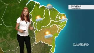 Previsão Nordeste - Chuva aumenta na costa norte