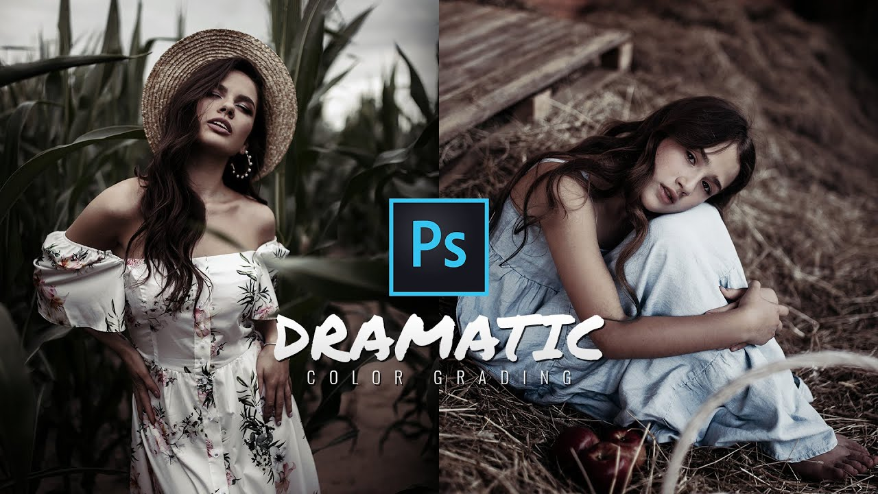 Dramatic Color Grading Effect in Photoshop