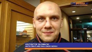 Głowacki po zdobyciu pasa WBO w walce z Huckiem