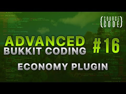 Advanced Bukkit Coding - Custom Economy Plugin - Episode 16