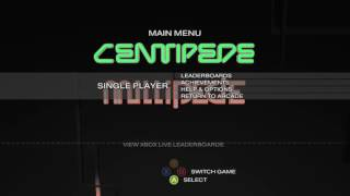 CENTIPEDE & MILLIPEDE OLD RETRO GAME WITH THE SONG ANIMALS!