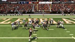 Madden 25 :: XBOX ONE Gameplay :: Unbelieveable Ending - Colts Vs. Browns - Online Gameplay XboxOne