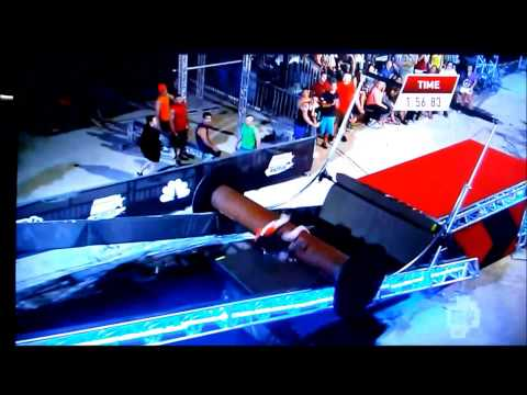 American Ninja Warrior (ANW) Season 4 Vegas stage 1