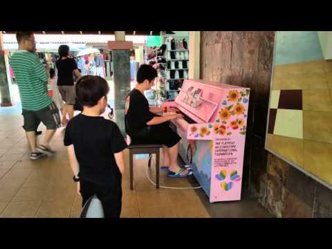Play Me I'm Yours! (Yiruma) - Spring Time : Javier Yap @Toa Payoh Singapore 17/3/2016