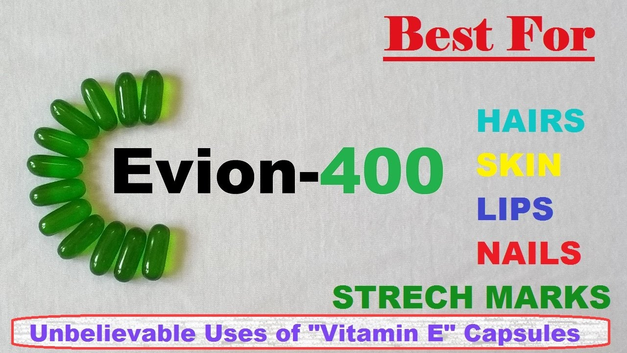 EVIOn - best Vit E capsule