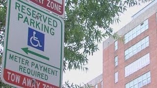 Disabled drivers pay to park in Baltimore