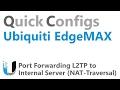 QC Ubiquiti EdgeMAX - Port Forwarding L2TP to Internal Server (NAT Traversal)