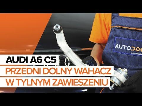 Jak Wymienić Wahacz Przedni W Przednim Zawieszeniu W AUDI A6 C5 UTORIAL   AUTODOC