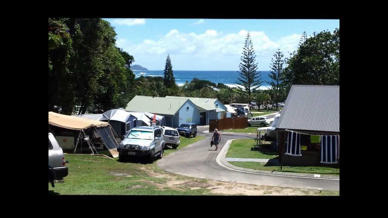 broken head holiday park camping youtube. Black Bedroom Furniture Sets. Home Design Ideas