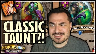 OLD TAUNT BUILDS OVER NEW ONES?! - Hearthstone Battlegrounds
