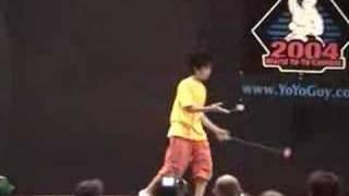Shinji Saito Worlds 2004 2A Freestyle (1st Place)