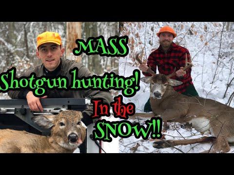 Massachusetts Shotgun Hunting (IN THE SNOW) 2019