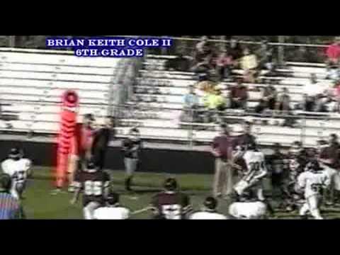 Evolution of Brian Keith Cole II