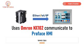 Use Omron NX102 to communicate…