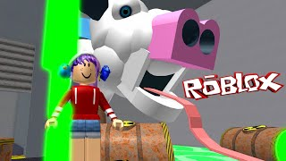 ROBLOX LET'S PLAY ESCAPE THE BUTCHER OBBY | RADIOJH GAMES