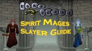 Oldschool Runescape Spiritual Mages Guide.