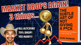 Market BOMB - 3 Things You MUST HAVE MOVING FORWARD! Bitcoin Mining Costs EXPLOSION + Jimmy Song