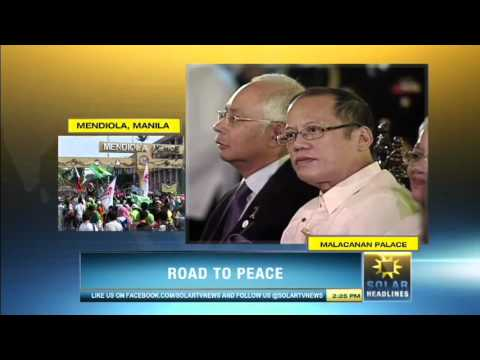 Bangsamoro Framework Agreement is forged in Malacañan - Part 3/7