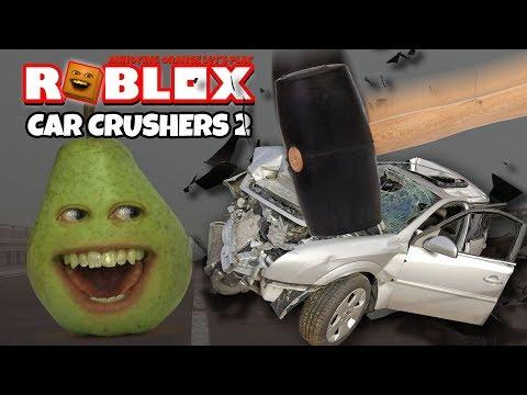 Roblox: CAR CRUSHERS #2 [Pear Plays]