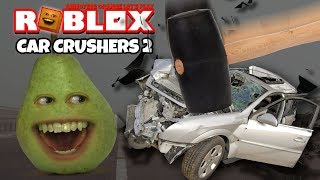 Roblox: CAR CRUSHERS #2 [Pear Plays]
