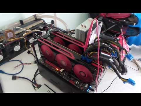 Bitcoin mining with AMD video cards... - [Solved