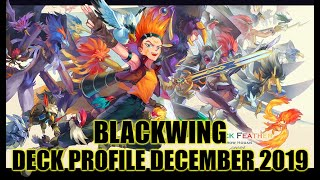 BLACKWING DECK PROFILE (DECEMBER 2019) YUGIOH!