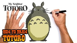 How to Draw Totoro | My Neighbour Totoro