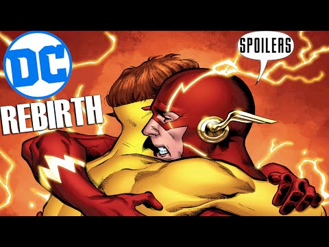 DC Rebirth is AWESOME (SPOILERS)