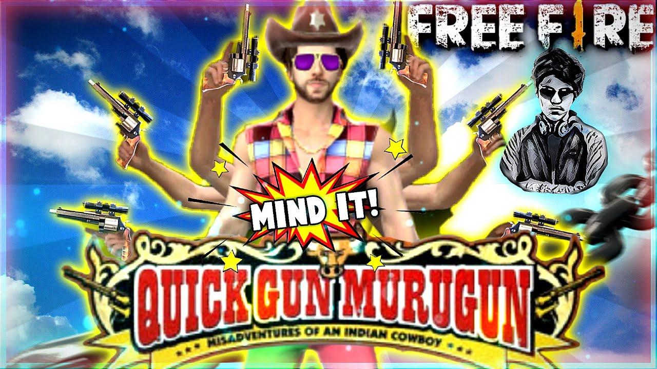 Quick Gun Murugun X Free Fire | Best Edited VFX Montage | VJ's Creations
