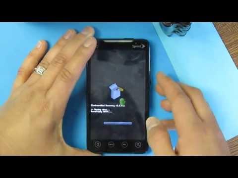 Hard Reset HTC Evo 4G PC36100 Sprint