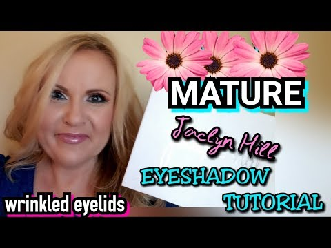 Easy Eyeshadow Tutorial for Mature Eyes | Jaclyn Hill Palette | Paint By Numbers thumbnail