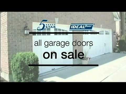 February 2016 Garage Doors On Sale At Menards Youtube