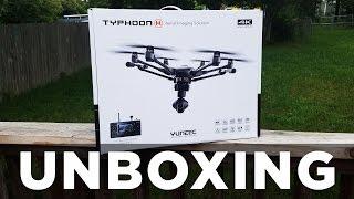 Yuneec Typhoon H Unboxing HD