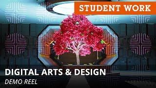Student Work Showcase: Digital Arts & Design   Full Sail University