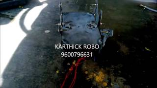 6 leg kinematic walker mechanical engineering project
