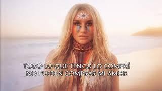 Kesha - Woman ( Subtitulada Al Español)