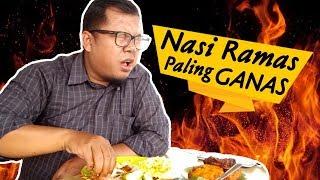 Kepedasan !! Makan Nasi Rames Paling Enak di Pekanbaru