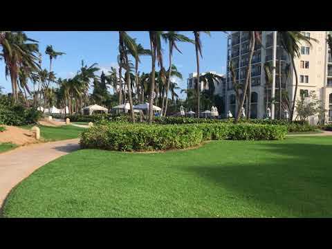 AFTER MARIA: Grounds of Wyndham Rio Mar Resort, Puerto Rico