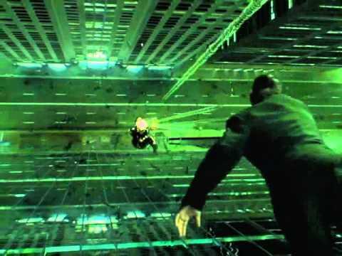 The Matrix Reloaded - Trinity Slow mo Intro
