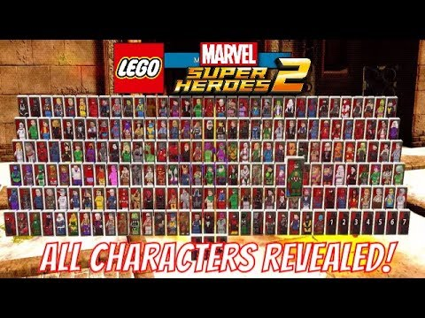 LEGO Marvel Super Heroes 2 ALL CHARACTERS REVEALED! - YouTube