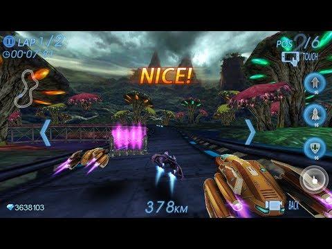 Пространство Гонки 3D игра на Андроид