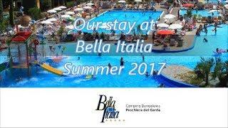 Camping Bella Italia, Gardameer Italië // Campsite Bella Italia, Lake Garda Italy 2017