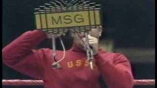 Nikolai Volkoff sings the Russian National Athem