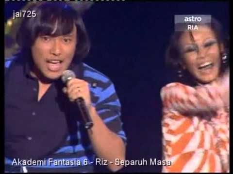 Akademi Fantasia 6 - Riz - Separuh Masa