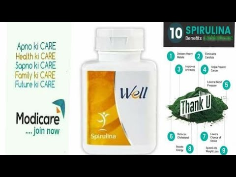 Modicare | Well Spirulina | Features & Benefits