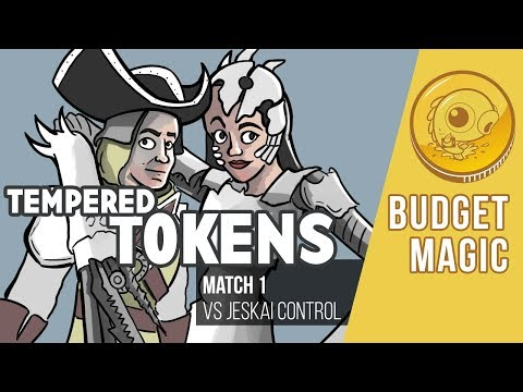 Budget Magic: Tempered Tokens vs Jeskai Control (Match 1)